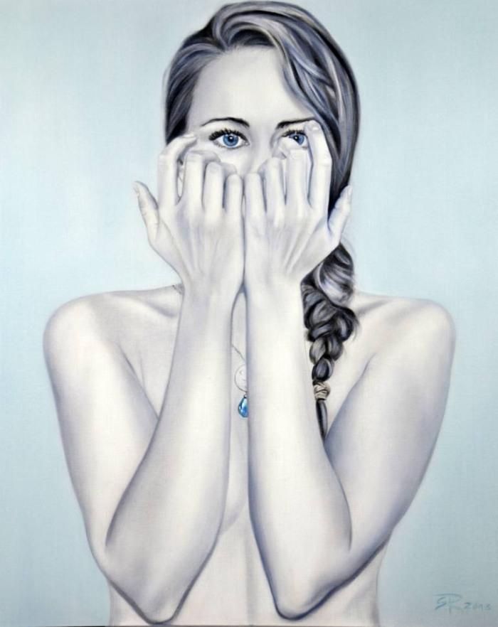Немецкая художница. Sabine Rudolph