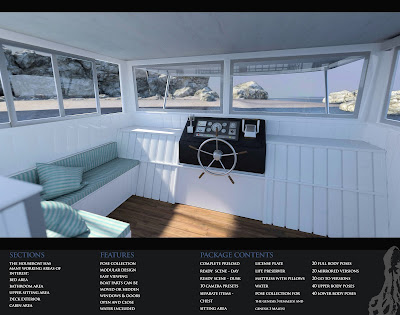 i13 Houseboat with Poses