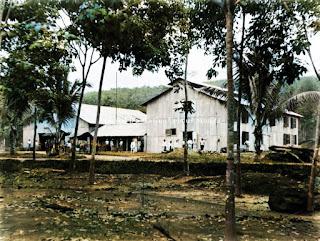 pabrik dan rumah perkebunan malomboe di tapanuli