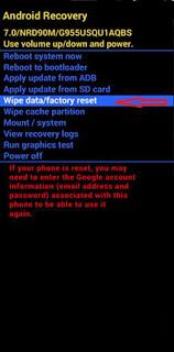 ﻮ اعادة ضبط المصنع ﻟﻬﺎﺗﻒ ﺳﺎﻣﻮﺳﻨﺞ جلاكسي SAMSUNG Galaxy Note8