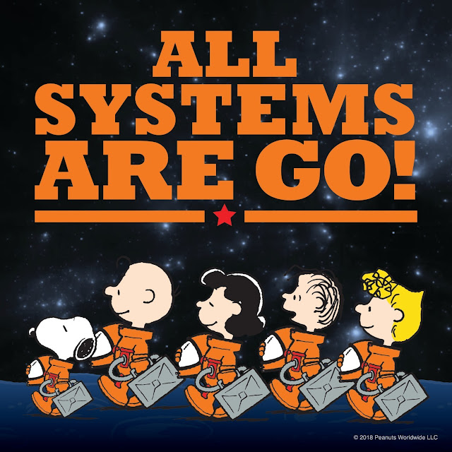 """In July 2018, NASA and Peanuts Worldwide looked to the future with the signing of a multi-year, formal Space Act Agreement, supporting fresh entertainment content plus STEM-based educational materials for the next generation..."""