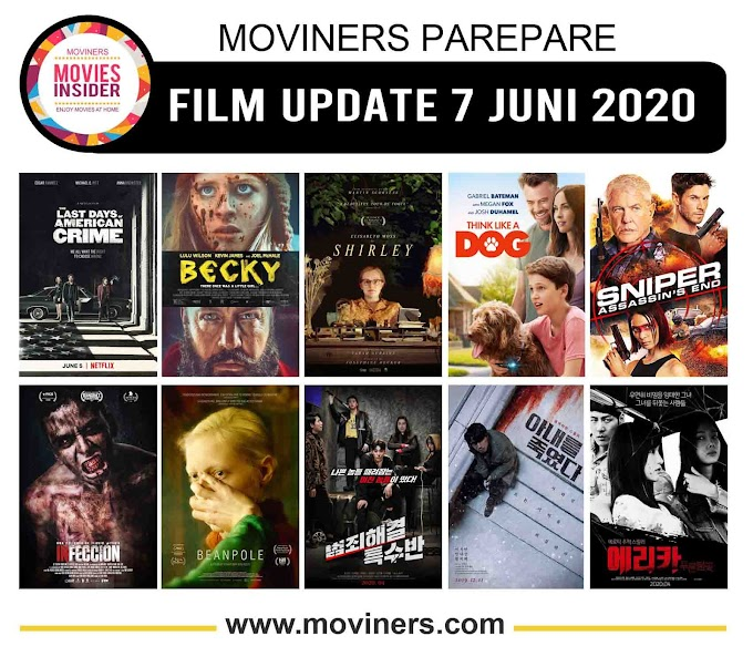FILM UPDATE 7 JUNI 2020