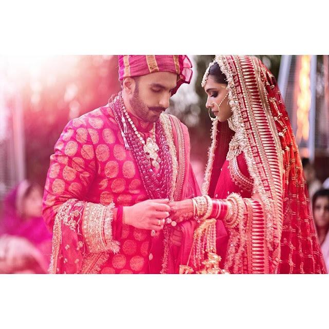 All Wedding Pictures Of Ranveer Singh And Deepika Padukone