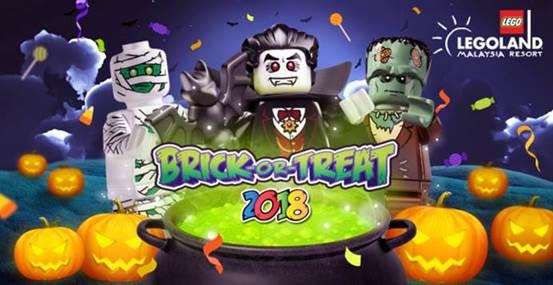 LEGOLAND Cultivate Creative Play Through Its Annual Brick-Or-Treat Halloween Festival