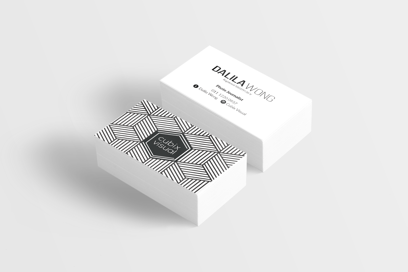 BUSINESS CARD DESIGN AND PRINTING (PROMOSI PENGENALAN) - rihahalim