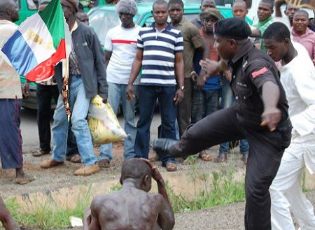 PDP Defector's Thugs Beat Up APC Chairman In Govt. House