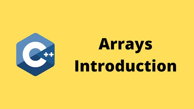 HackerRank Arrays Introduction solution in c++ programming