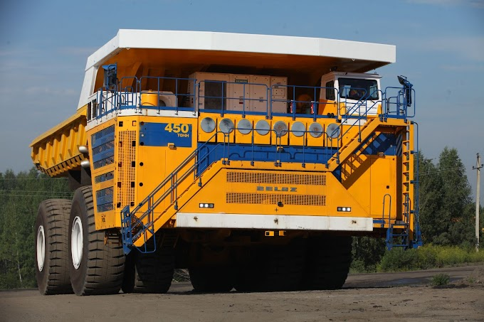 BelAZ 75710 World's largest, highest payload capacity haul truck