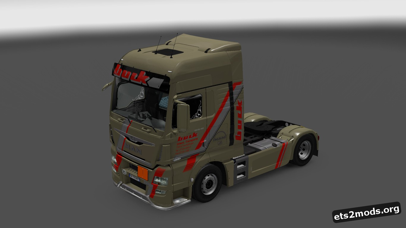 Buck Transporte Skin for MAN Euro 6