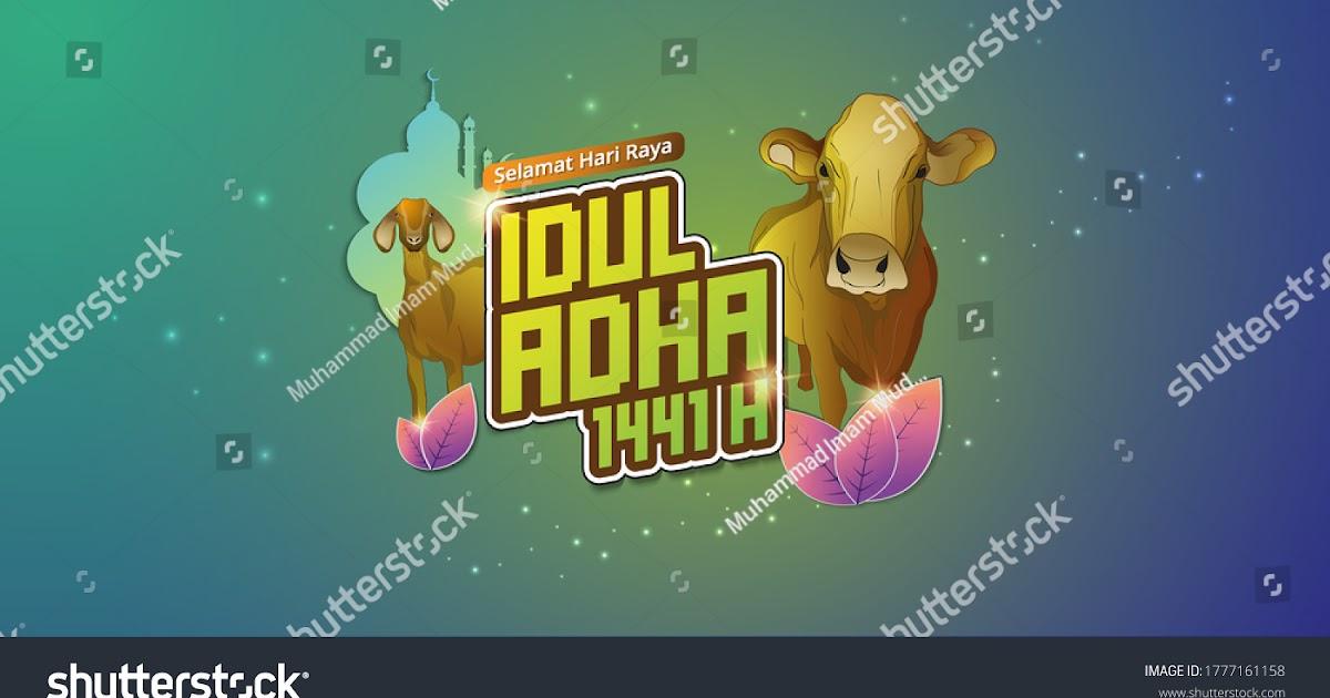 Desain Banner Dan Contoh Ucapan Selamat Hari Raya Idul Adha 2020 1441 H Dkv Banget