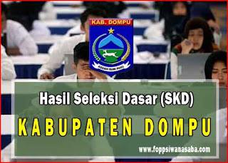 Cek Hasil Seleksi Kompetensi Dasar (SKD) Kabupaten Dompu