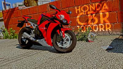 GTA V - Honda CBR 1000 RR 1