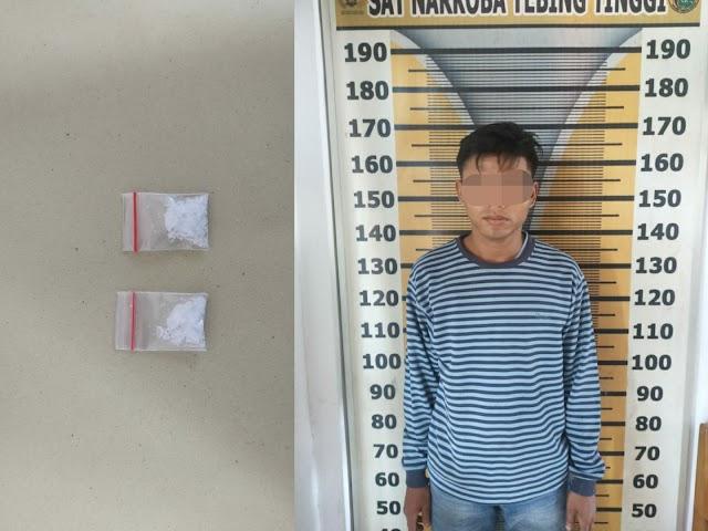 Simpan Sabu, Gogo Tak Berkutik Ditangkap Petugas di Tambangan