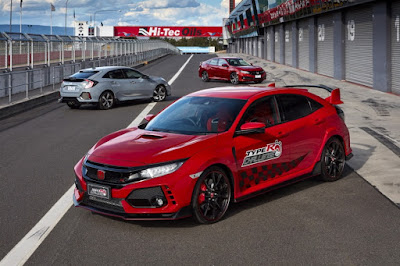 Honda Civic Type R Pecahkan Rekor di Mount Panorama