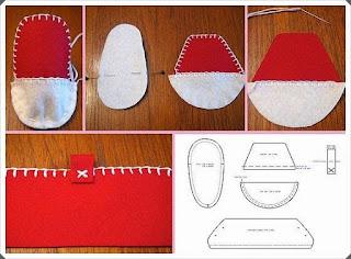Keçe Bebek Patik Modeli 1