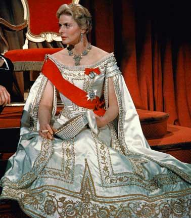 Vestido Czarina Ingrid Bergman