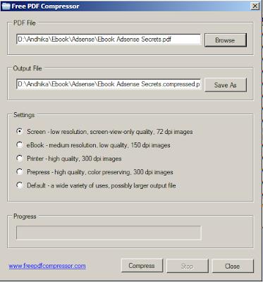 Cara Memperkecil Ukuran File PDF Offline dengan Free PDF Compressor
