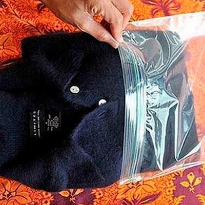 meter prendas en el congelador quitar bolitas evitar que salgan bolitas jersey congelado