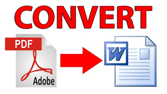 5 Cara Merubah File PDF ke WORD secara Online Atau Offline Terlengkap