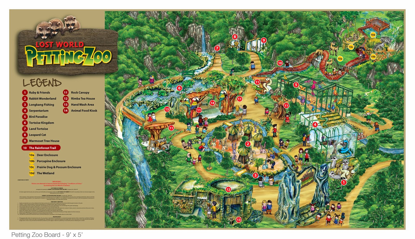 Map to lost world of tambun howmap2008 lwot park map lost world petting zoo map lostworld1 lost world tambun gumiabroncs Choice Image