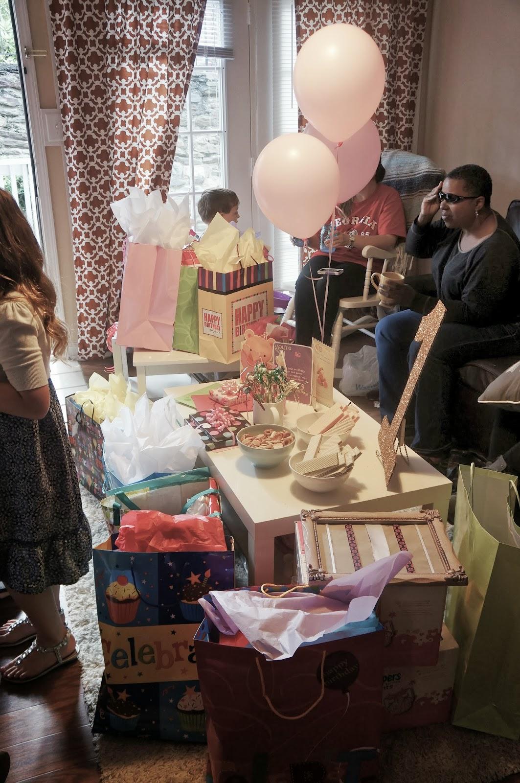 Allisen Byrd Scarlett S First Birthday Party