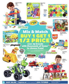Toys R Us Flyer March 16 – 22, 2018