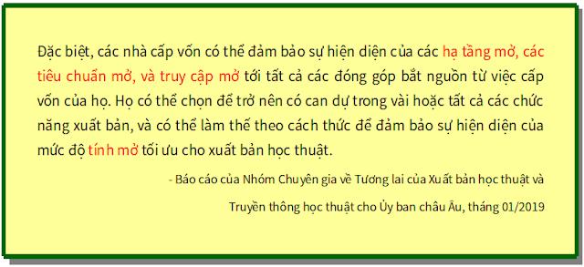 'Tương lai của xuất bản học thuật và truyền thông học thuật' - bản dịch sang tiếng Việt