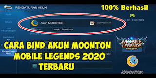 Cara Bind Akun Mobile Legends Ke Akun Moonton 2020