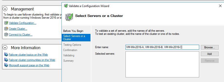 Richard's DBA Notes: Series 3 - Build a 3-node Windows Server 2016