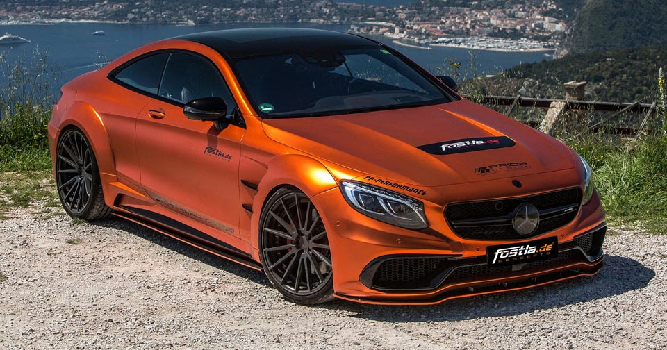 fostla goes all out with prior design mercedes amg s63 coupe. Black Bedroom Furniture Sets. Home Design Ideas
