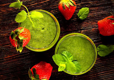 green food juice