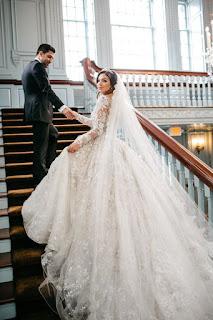 صور عروسة بفستان الفرح جميلة