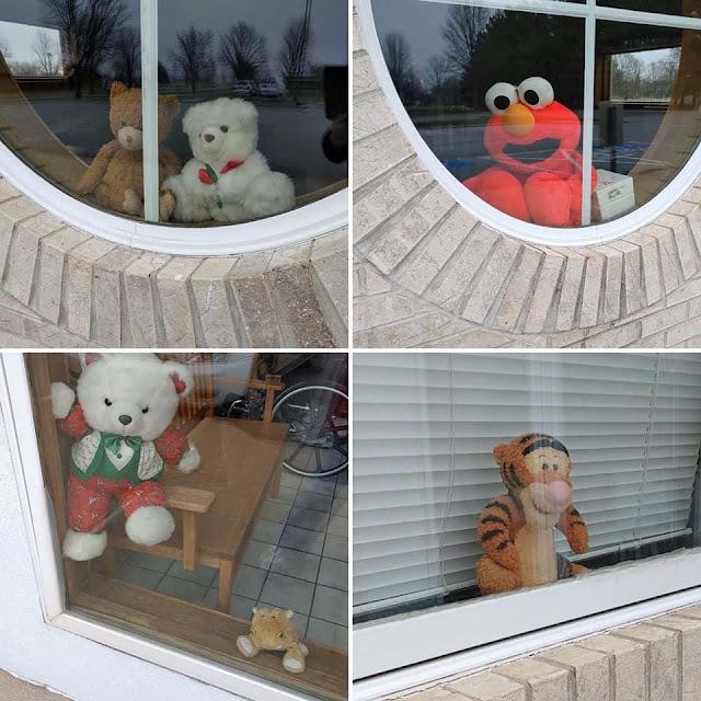 'It's Like a Silent Visual Message.' How Social Distancing-Friendly 'Bear Hunts' Are Uniting Neighborhoods Amid Coronavirus