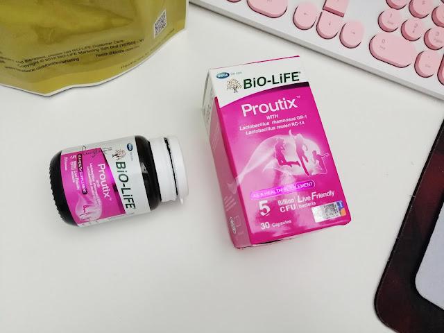 BiO-LiFE Proutix Supplement Probiotik Khas Untuk Wanita