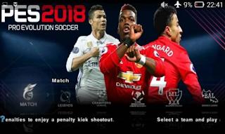 Game PES Jogress v3 2018 PSP ISO Full Transfer