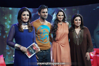 Normal Sania Mirza With Husband Shoaib Malik