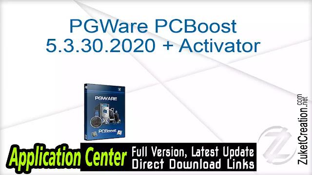 PGWare PCBoost 5.3.30.2020 + Activator
