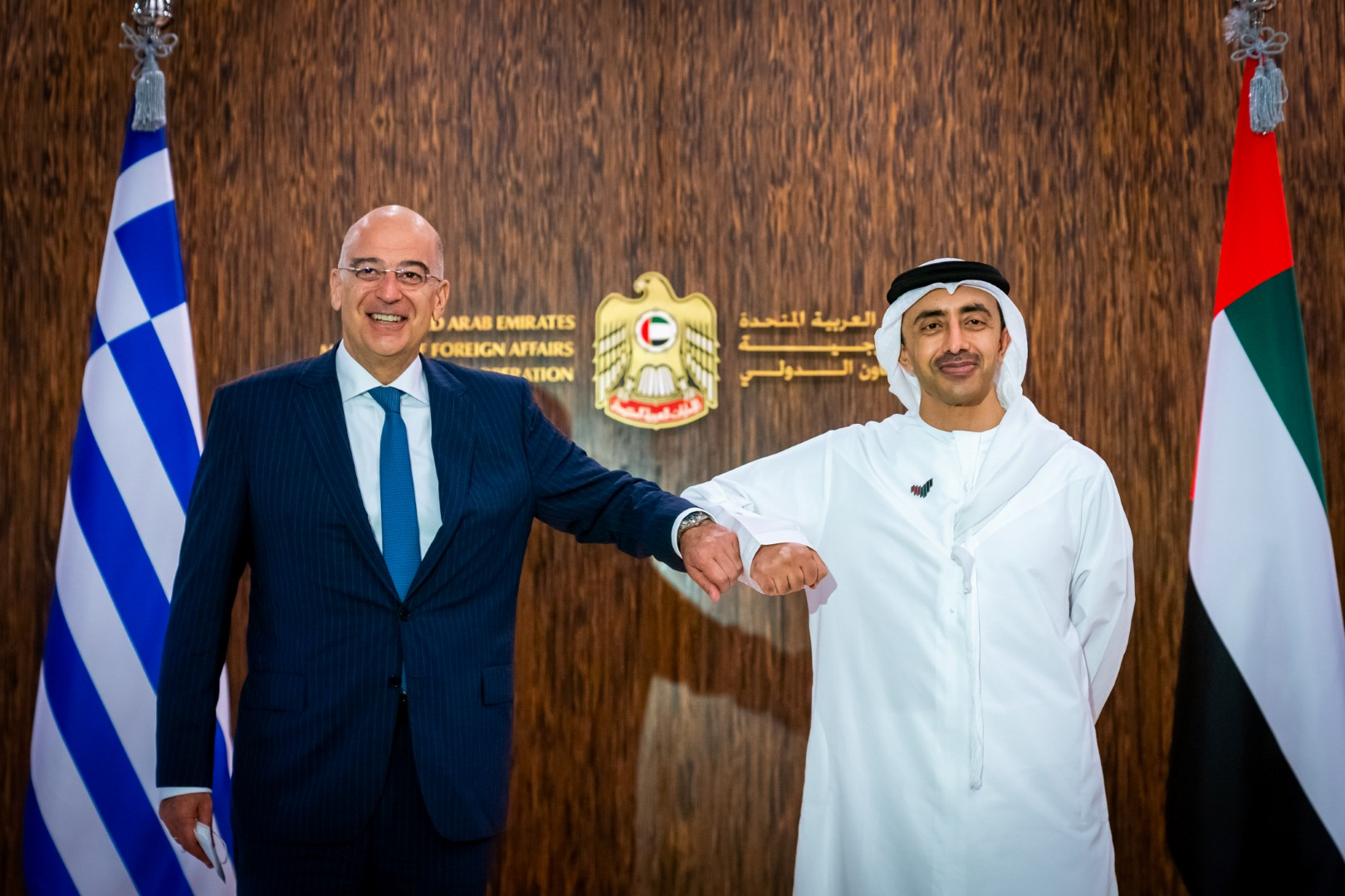 Abdullah bin Zayed receives Minister of Foreign Affairs of Greece