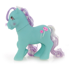 My Little Pony Mint Dreams Year Seven Candy Cane Ponies G1 Pony