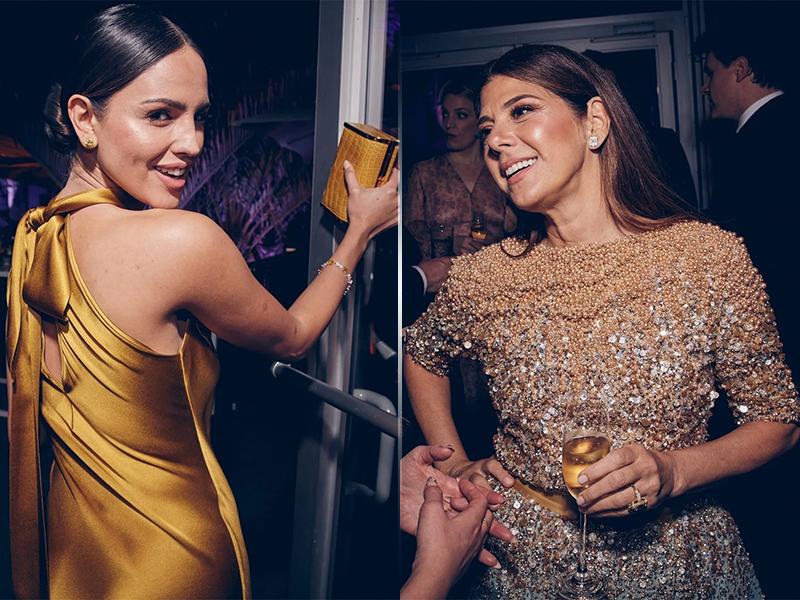 Eiza Gonzalez and Marisa Tomei