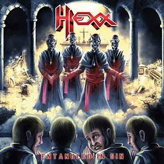 """Ο δίσκος των Hexx """"Entangled in Sin"""""""