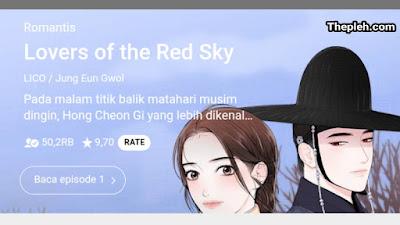 Lovers of the Red Sky Webtoon