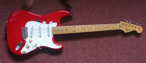 Ian edmundson's Tokai guitar