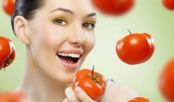 Manfaat Tomat Buat Muka