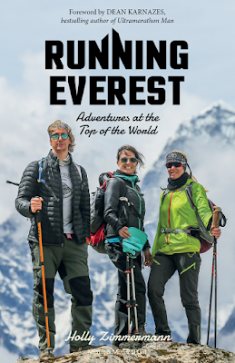 running everest himalayas marathon holly zimmermann beatrice lessi shaun stafford