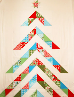 Quilt Inspiration: Free pattern day: Christmas quilts (part 1): Trees! : christmas tree quilt pattern moda - Adamdwight.com