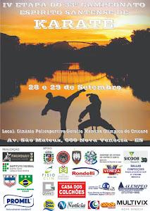 33º Campeonato Espírito-Santense de Karate - 4ª Etapa