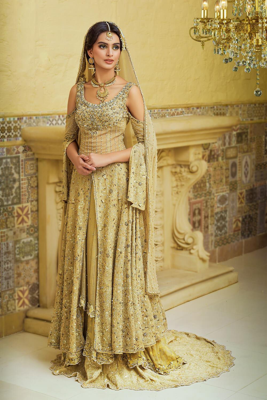 Bridal Peshwas and Lehenga