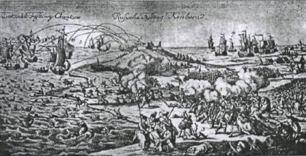 Сражение при Кинбурне 1 октября 1787 г - А. Н. Лукирский