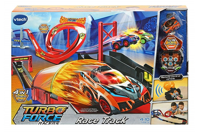 pista de carreras Turbo Force Racers de Vtech.